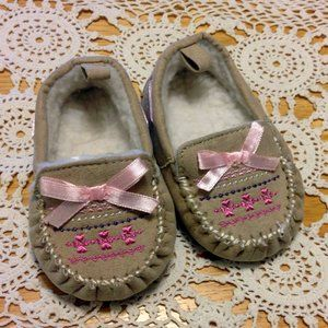 Rising Star Moccasins, 3-6 month